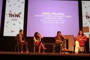(From L To R) Reema Kagti, Zoya Akhtar, Anusha Rizvi and Nidhi Razdan. Photo: Vijay Pandey